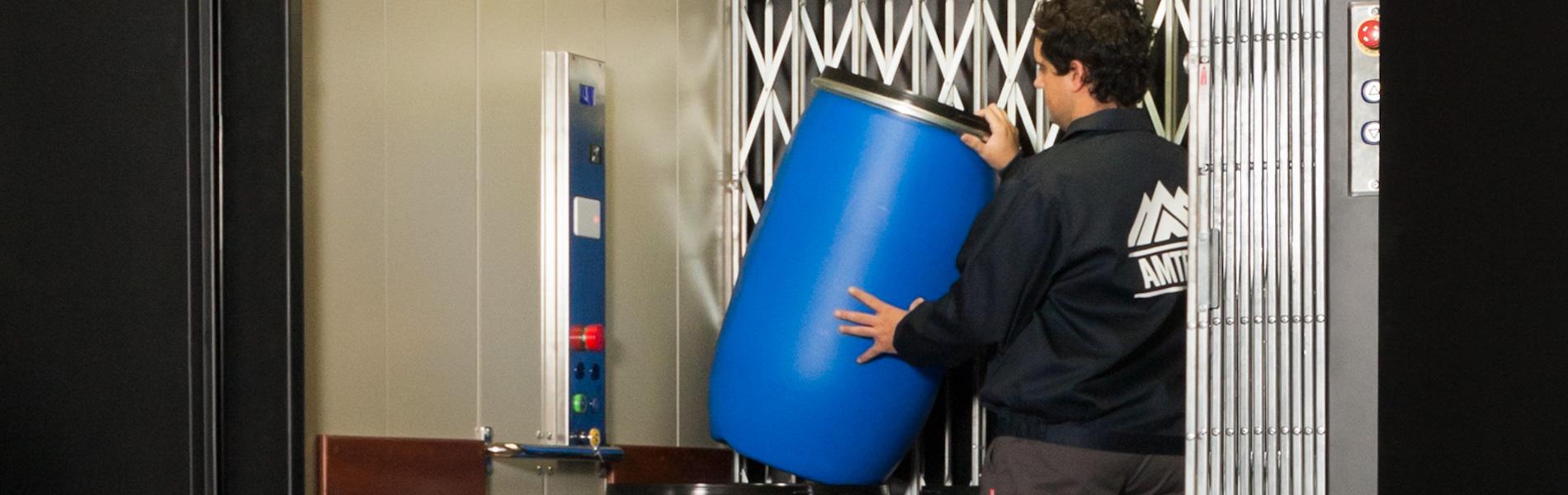 Carga + acompañante. Boxlift Pro