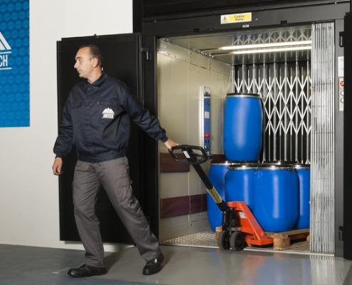 Excelencia en elevadores exclusivos de carga